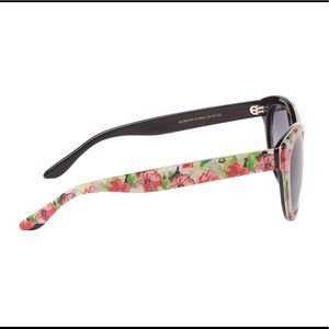 Betsey Johnson Accessories - Betsey Johnson Floral Acetate Cat-Eye Sunglasses